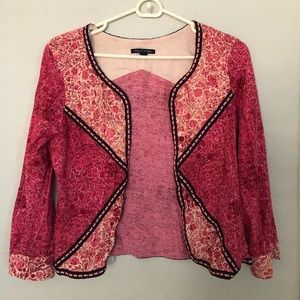 American Eagle Embroidered Blazer